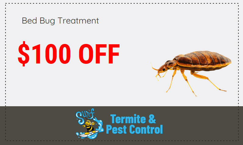 Surf Pest Bed Bug Discount Coupon