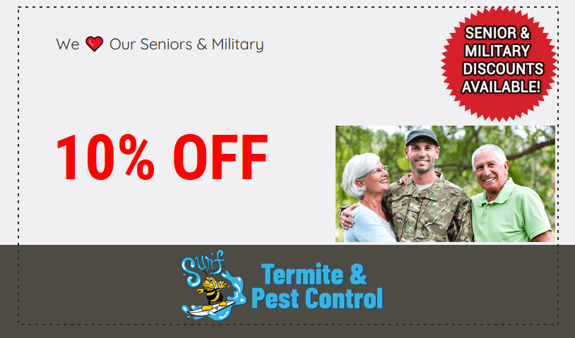 Surf Pest Military Discount Coupon