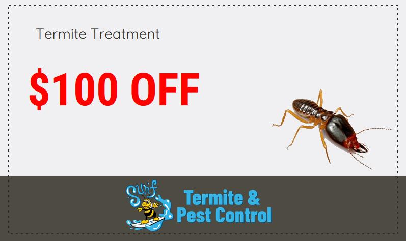 Surf Pest Termite Discount Coupon
